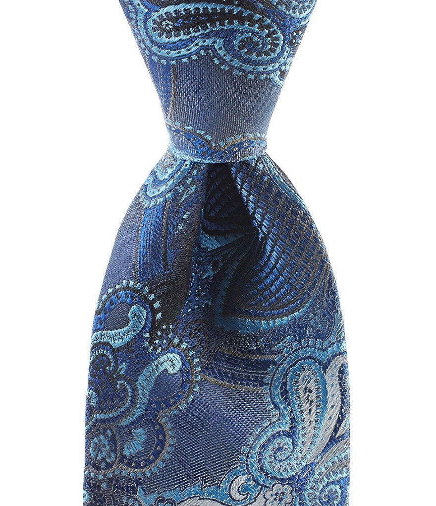 Murano Couch Paisley Traditional Silk Tie