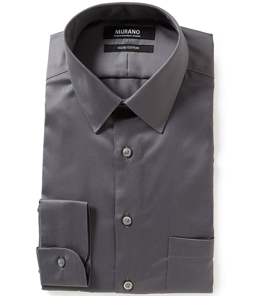 Dillards black dress shirt