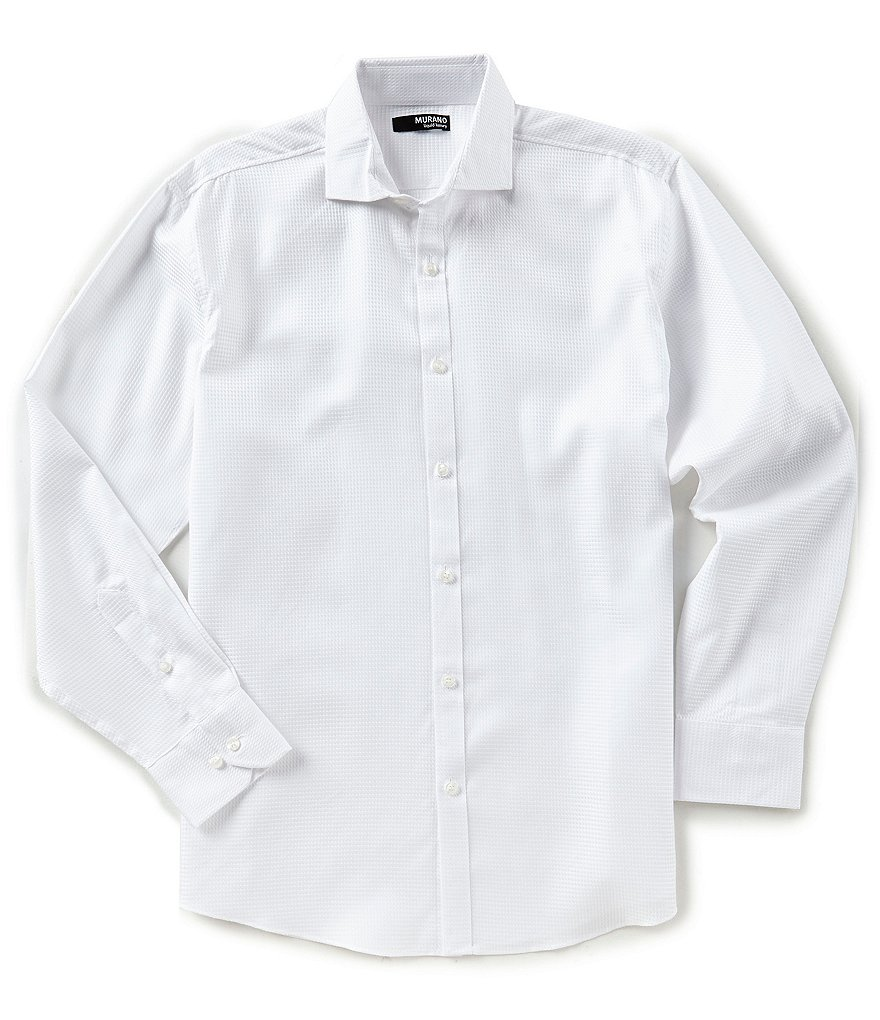 Murano Liquid Luxury Long Sleeve Spread Collar Shirt