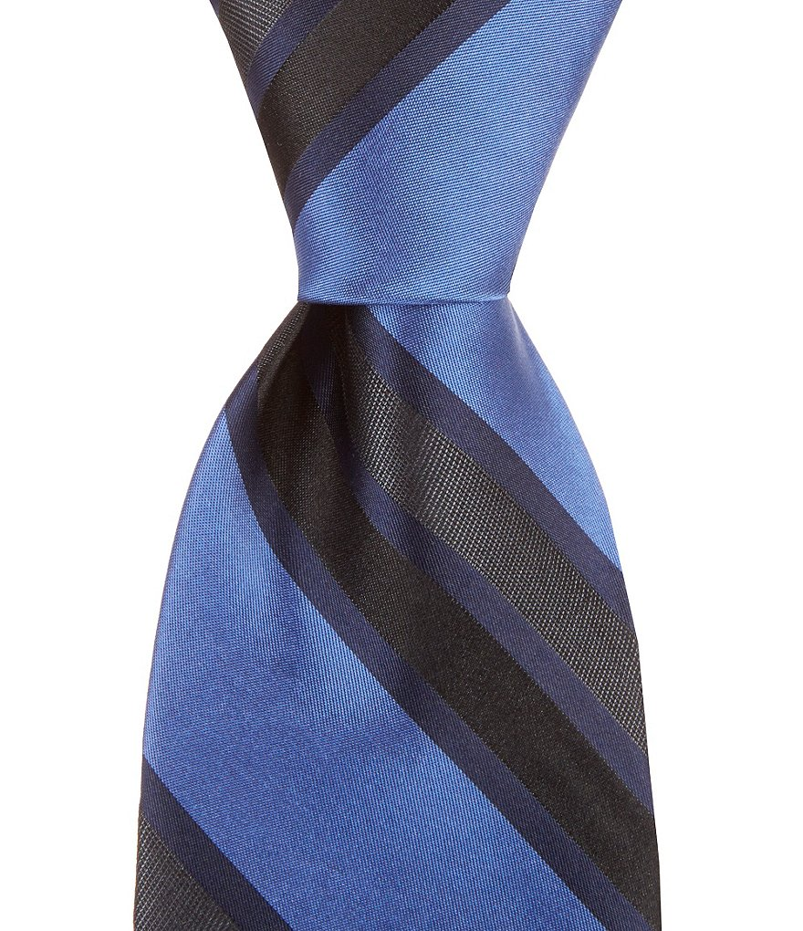 Murano Lotto Striped Traditional Silk Tie