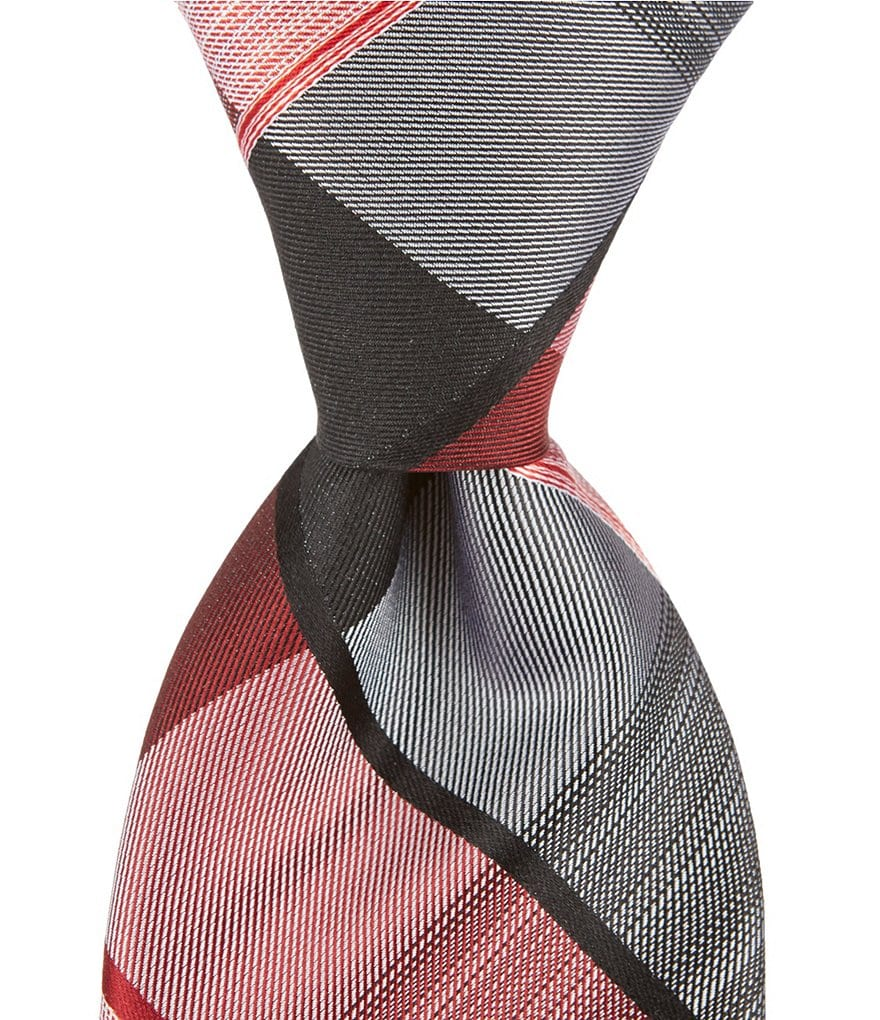 Murano Ombre Plaid Traditional Silk Tie