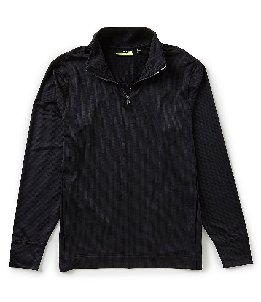 Murano Performance Slim Half Zip Knit