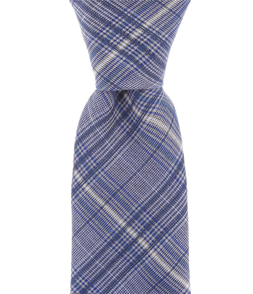 Murano Shirt Plaid Narrow Tie