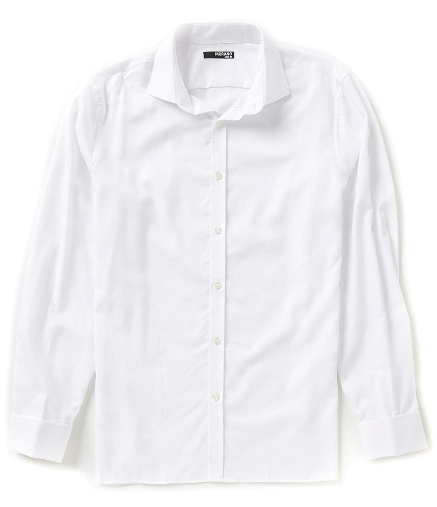 Murano Manhattan Collection Slim-Fit Long-Sleeve Sportshirt