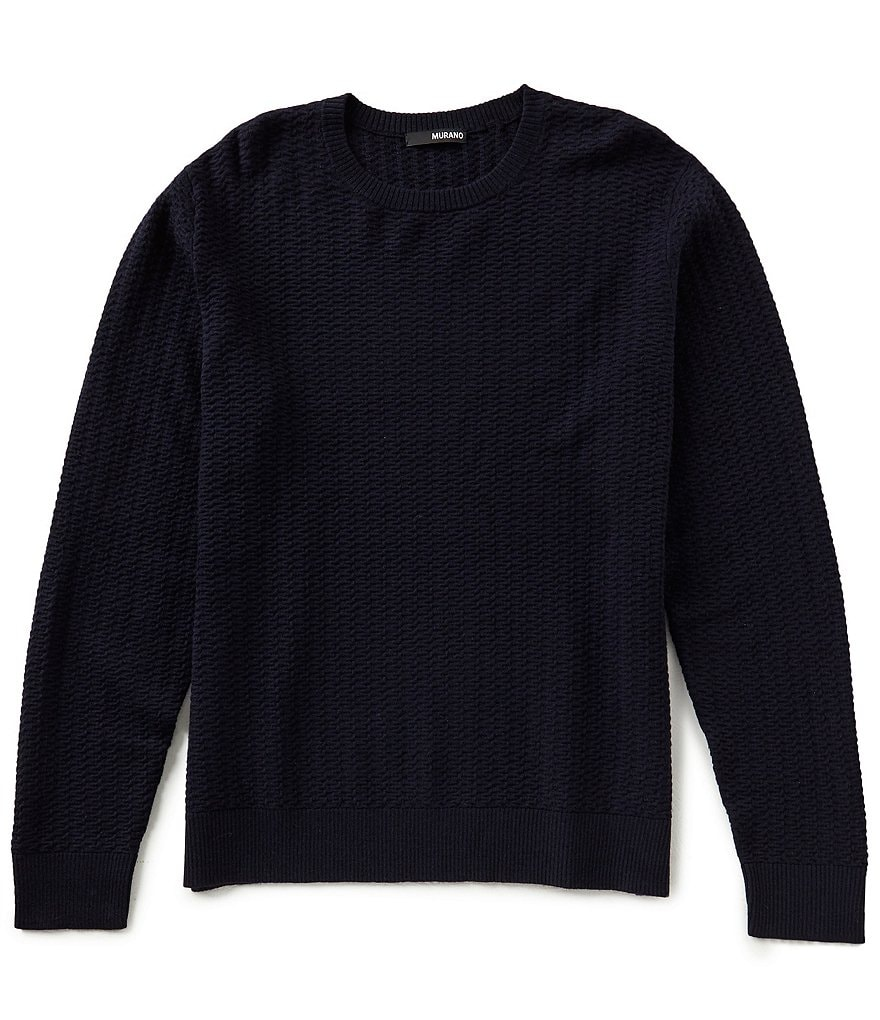 Murano Textured Crew Sweater