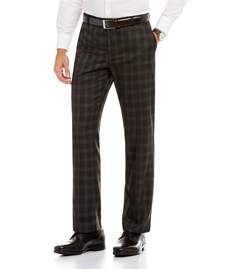 Murano Zac Modern Classic-Fit Flat-Front Dress Pants