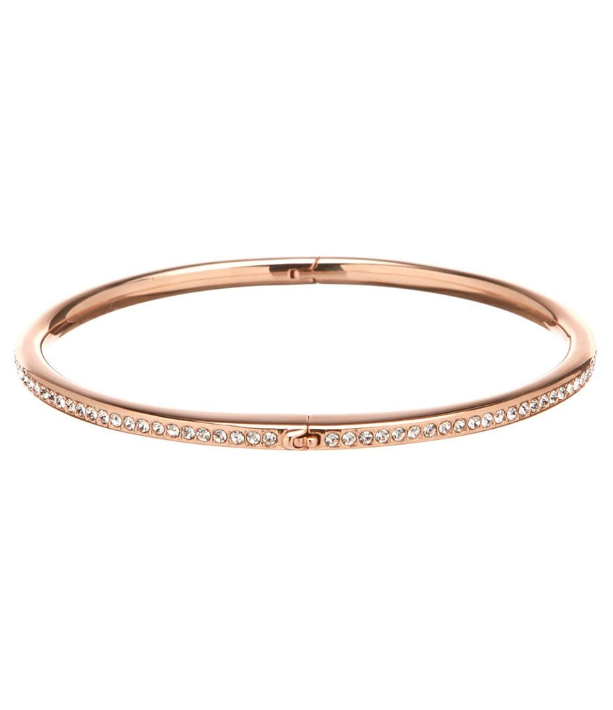 Nadri Channel-Set Hinge Bangle Bracelet