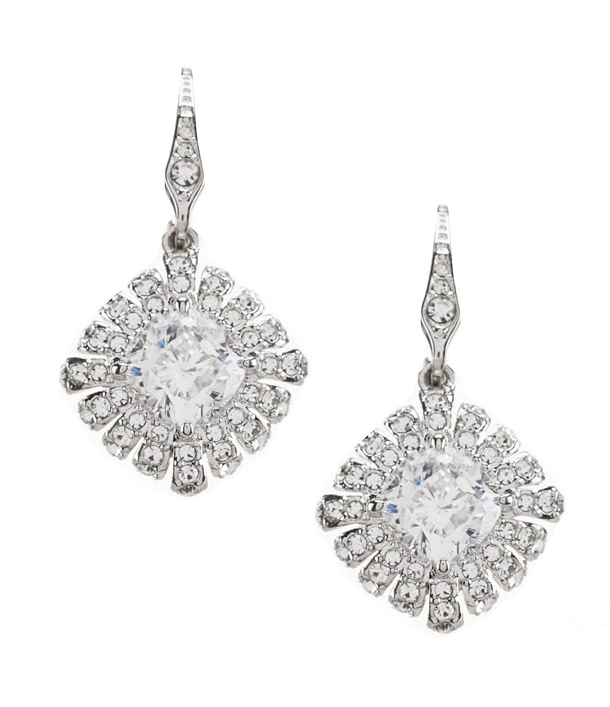Nadri Gladys Crystal Drop Earrings