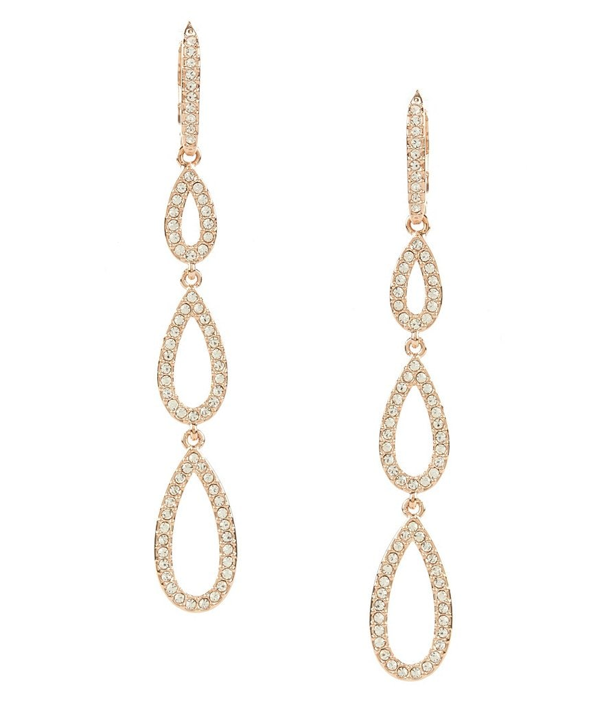 Nadri Pavé Drop Statement Earrings