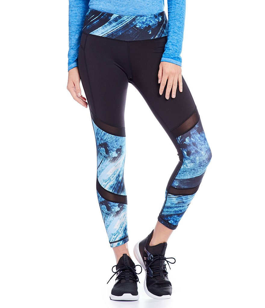 Nanette Lepore Play Active Arabesque Compression 7/8 Legging