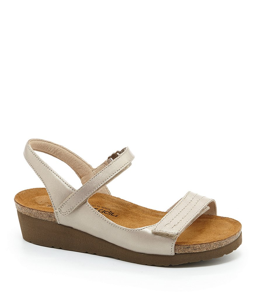 Naot Madison Metallic Leather Sandals