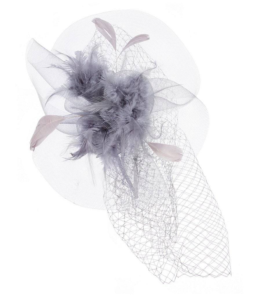 Natasha Accessories Feather Fascinator