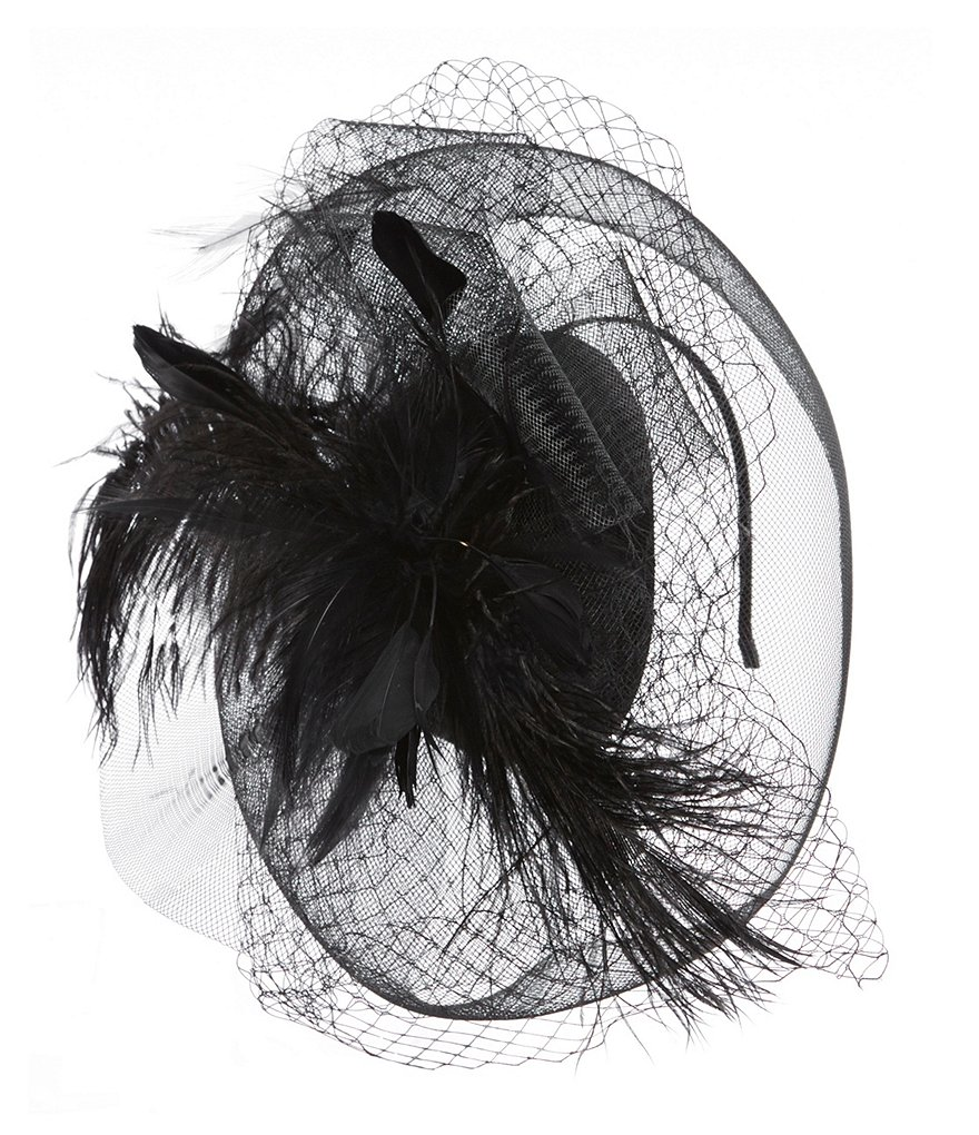 Natasha Accessories Stand Up Feather Fascinator