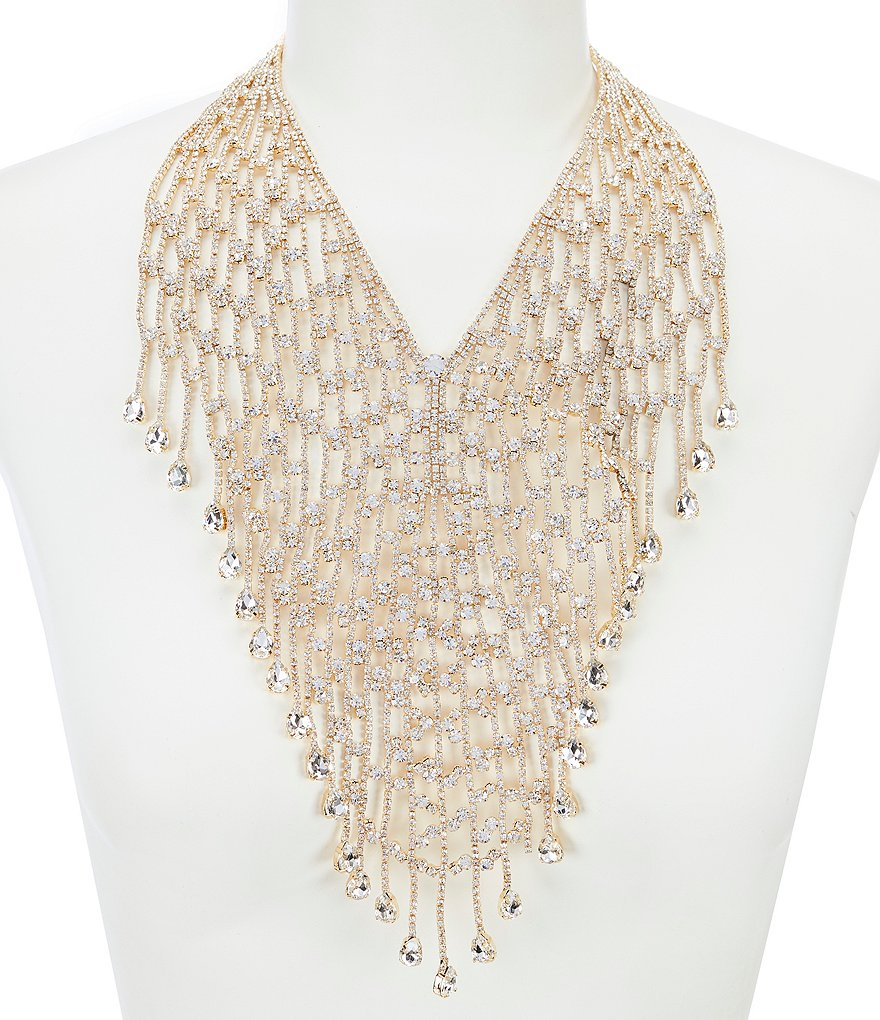 Natasha Accessories Full Frontal Statement Necklace