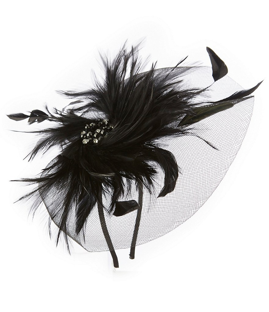 Natasha Accessories Twisty Feather Headband