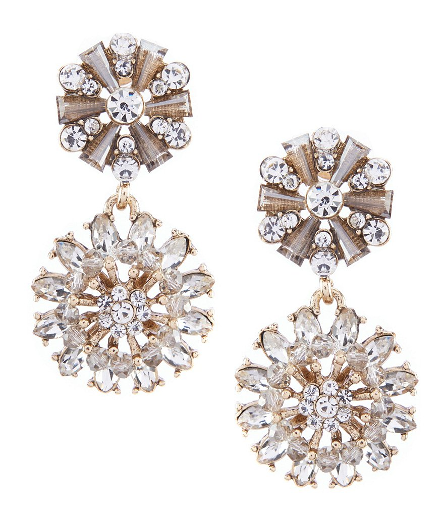 Natasha Statement Drop Earring