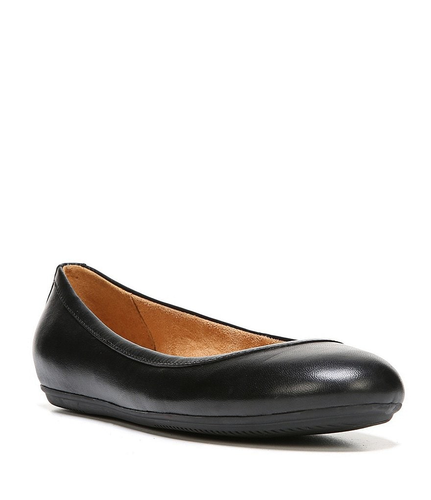 Naturalizer Brittany Leather Ballerina Flats