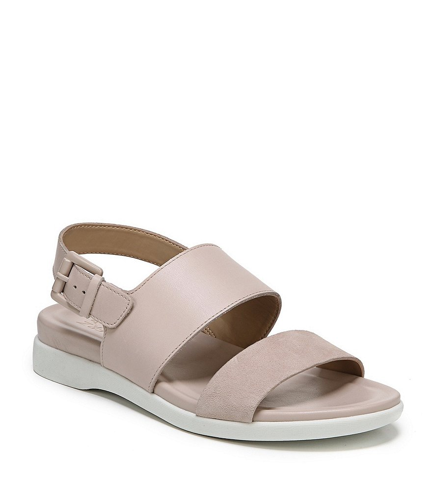 Naturalizer Emory Leather and Suede Sandals
