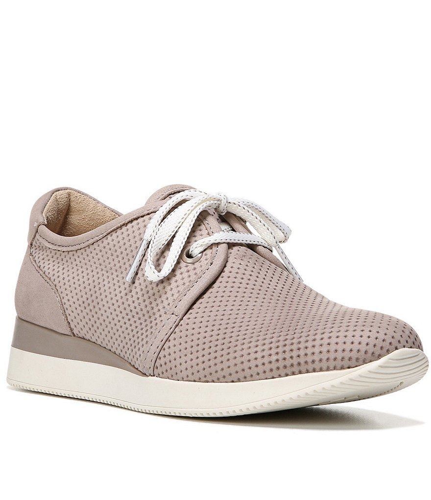 Naturalizer Jaque Perforated Lace Up Sneakers