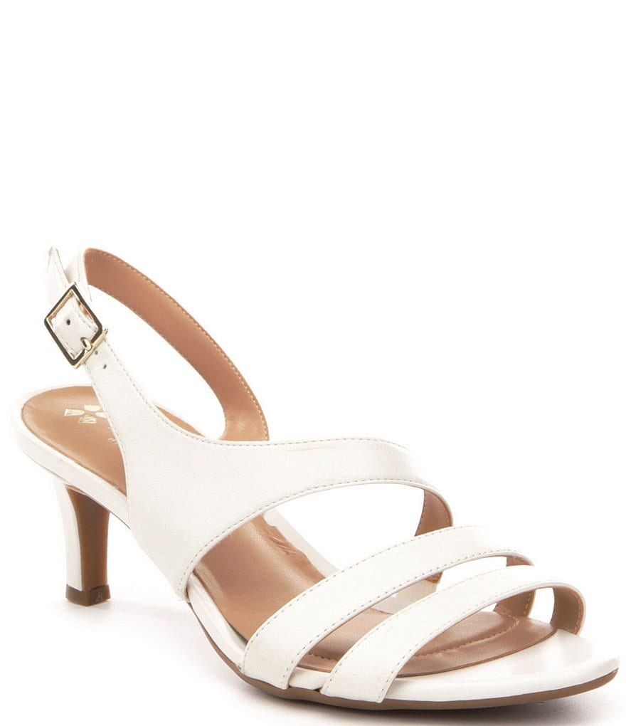 Naturalizer Taimi Leather Dress Sandals