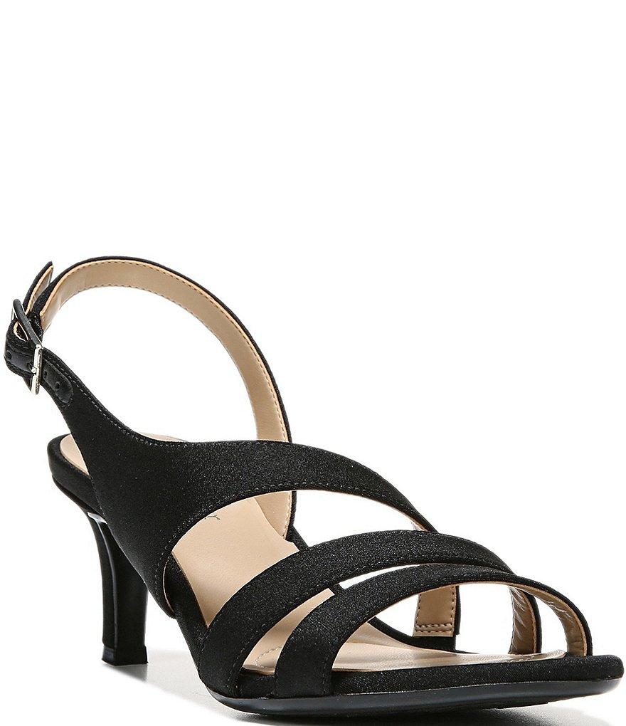 Naturalizer Taimi Glitter Fabric Dress Sandals ROv9T280D