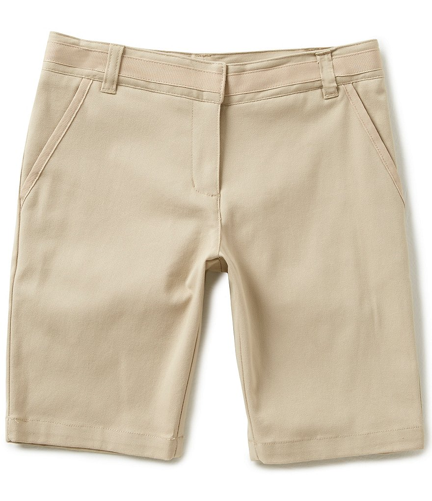 Nautica Big Girls 7-16 9#double; Twill Shorts