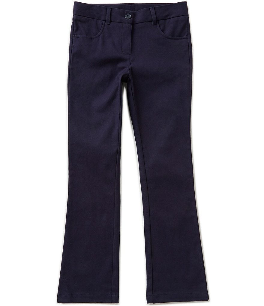Nautica Big Girls 7-16 Stretch Twill Chino Pants