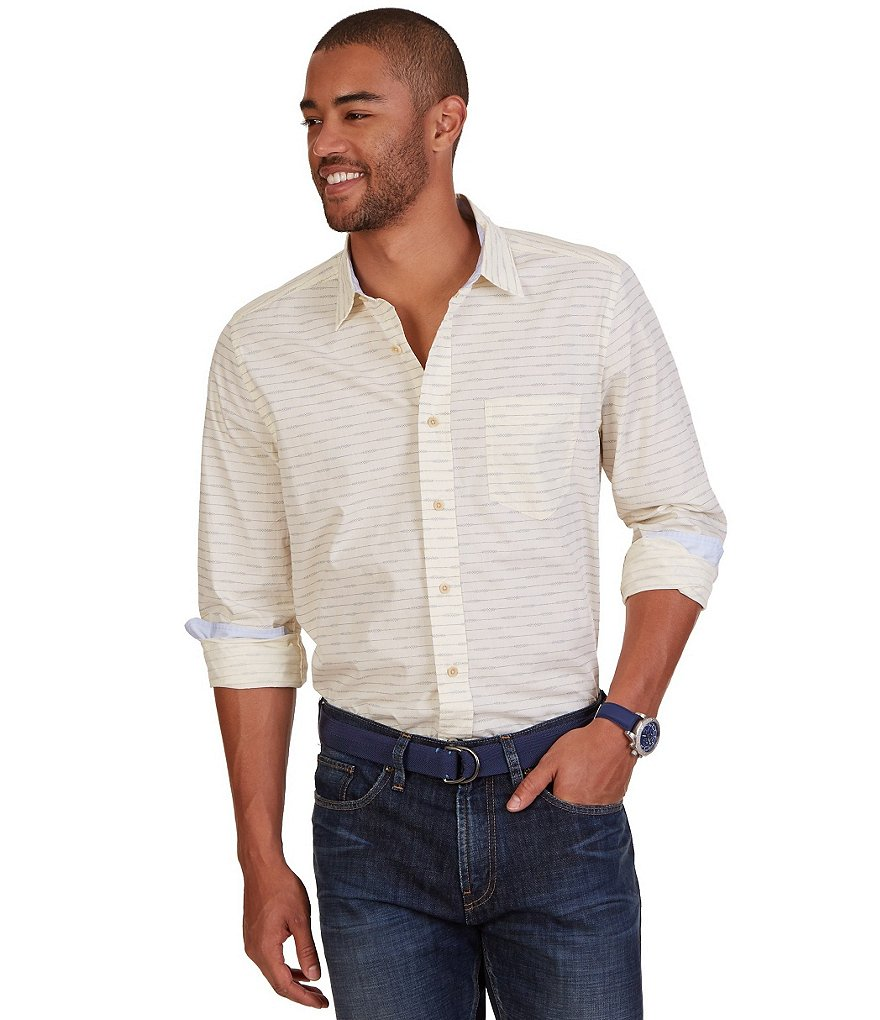 Nautica Classic-Fit Printed Shirt