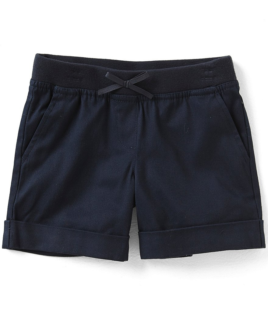 Nautica Little Girls 4-6X Cuffed Shorts