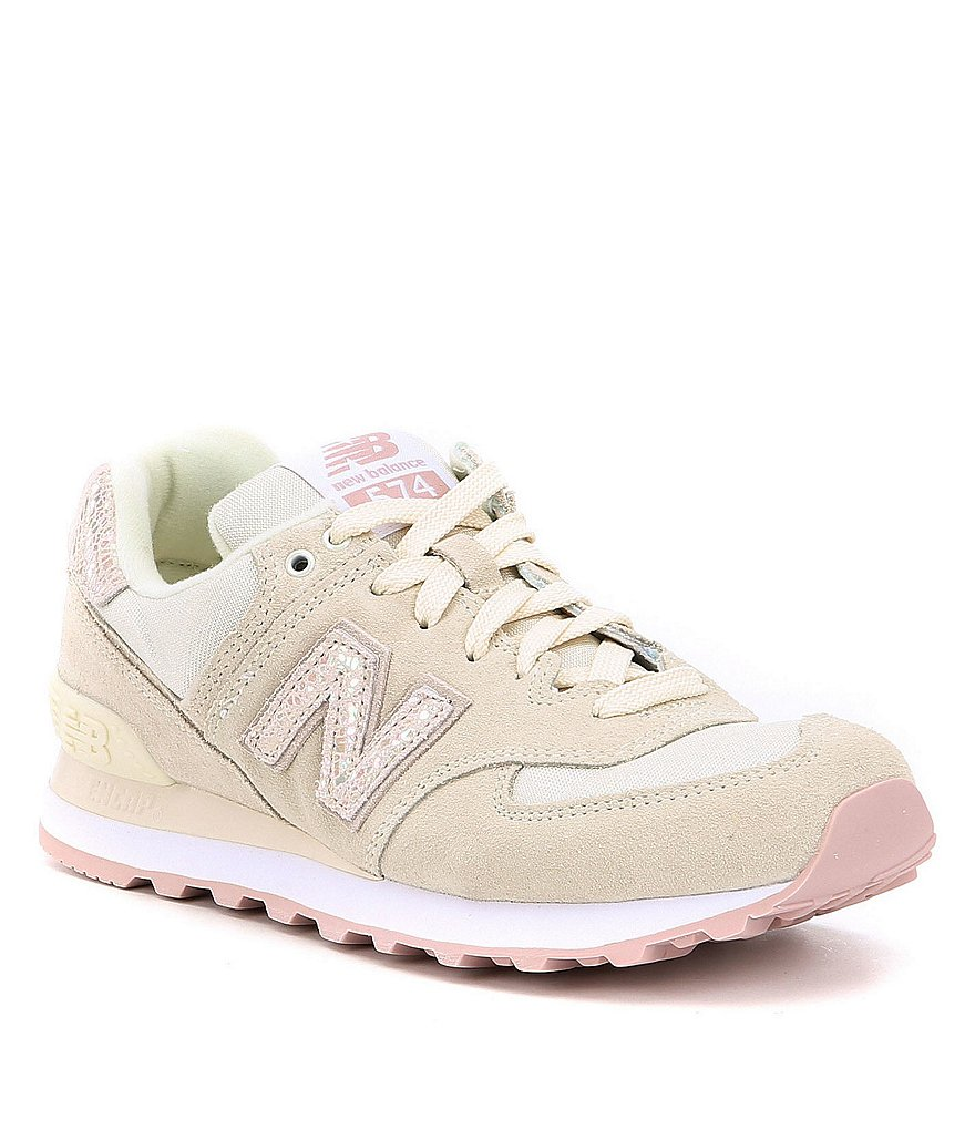 new balance pink sneakers. new balance women´s 574 lifestyle shoes pink sneakers m