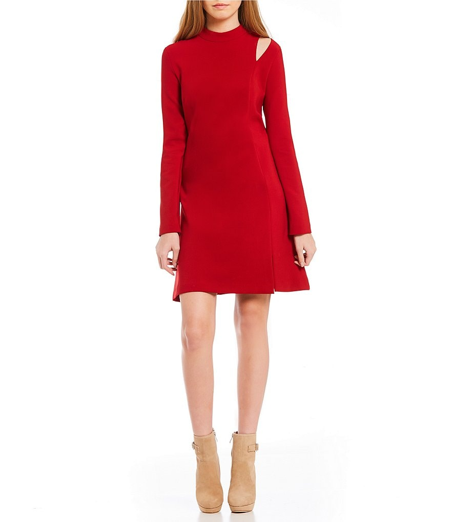 Nicole Miller Artelier Mock Mini Dress