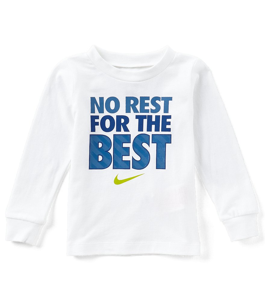 Nike Baby Boys 12-24 Months No Rest For The Best Long-Sleeve Tee