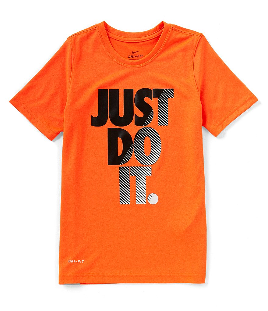Nike Big Boys 8-20 Dri-FIT Just Do It Tee