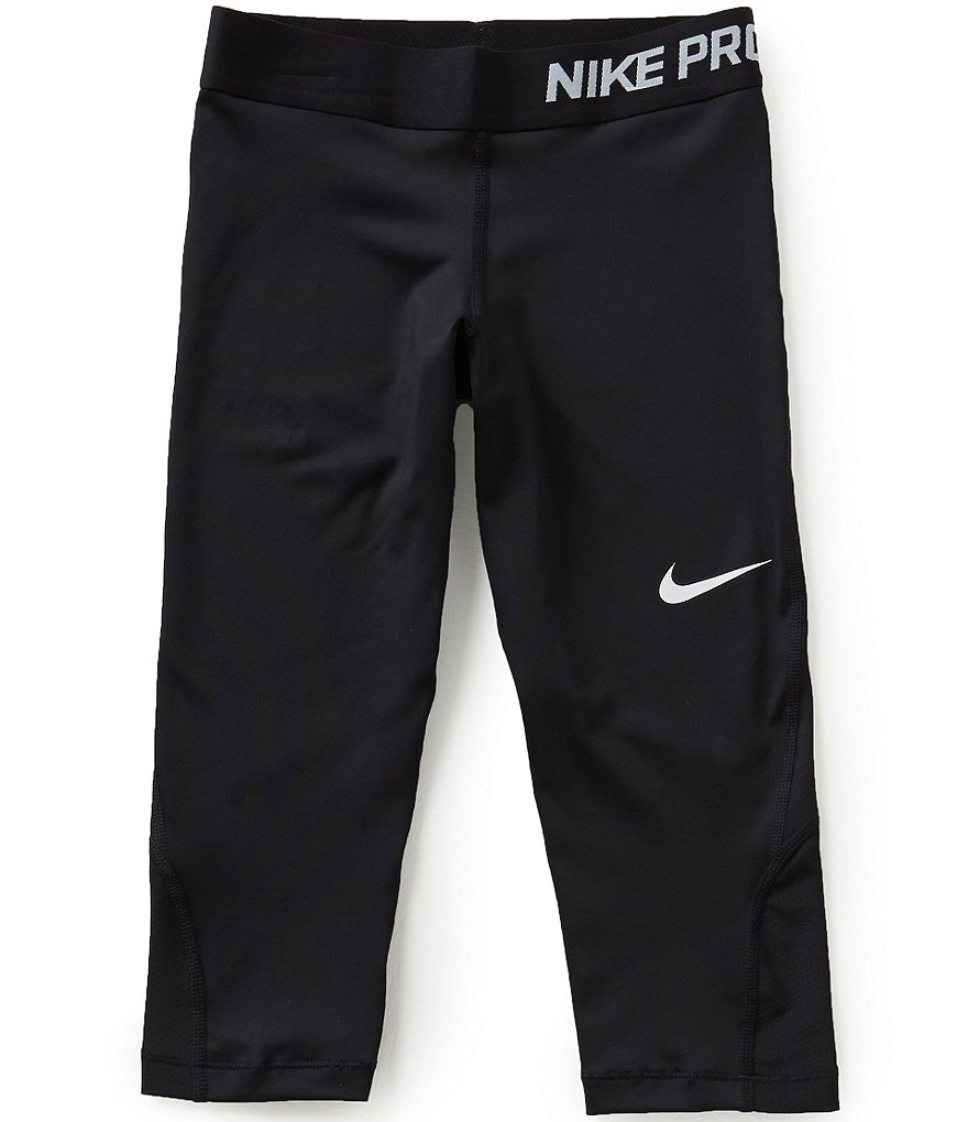 Nike Big Girls 7-16 Dri-FIT Capri Leggings