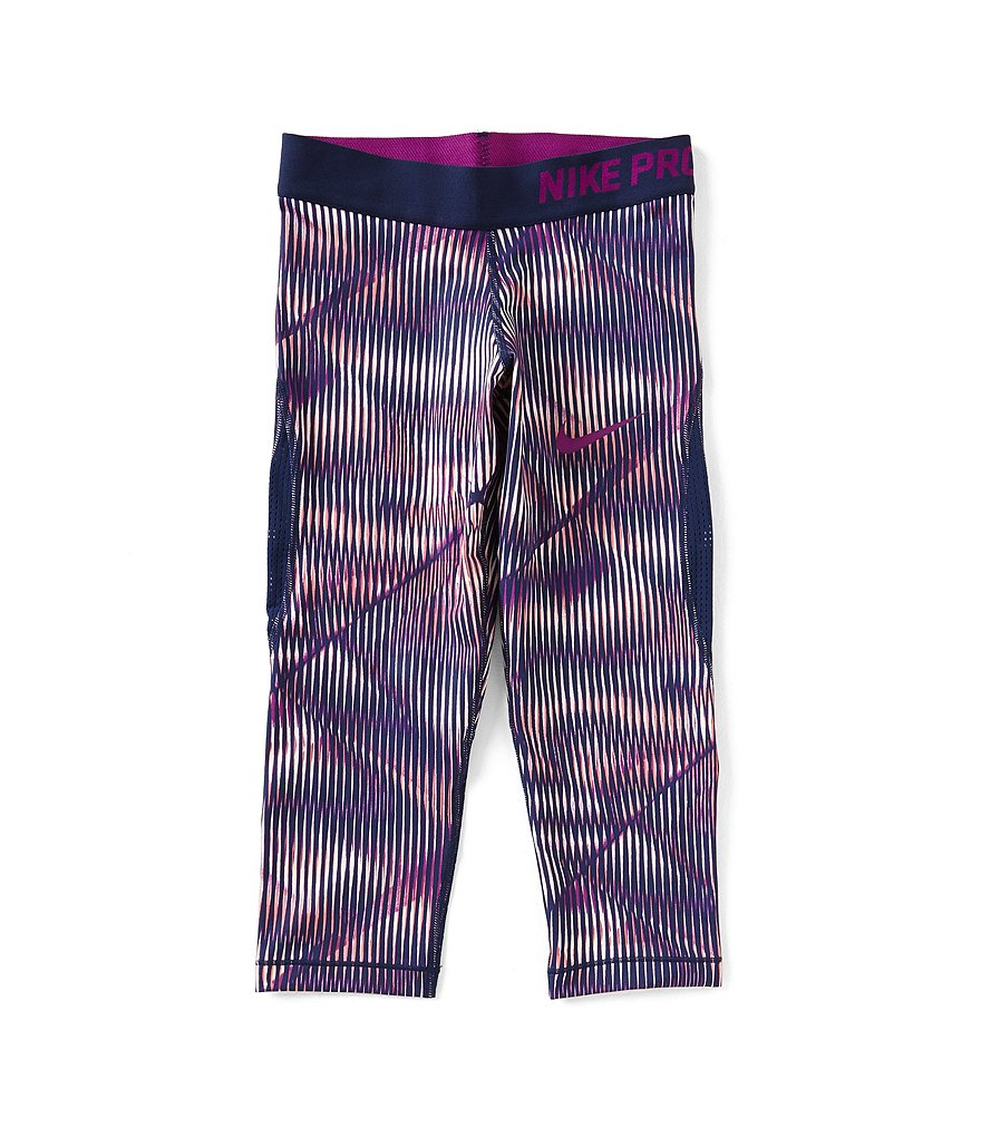 Nike Big Girls 7-16 Hypercool Capri Leggings
