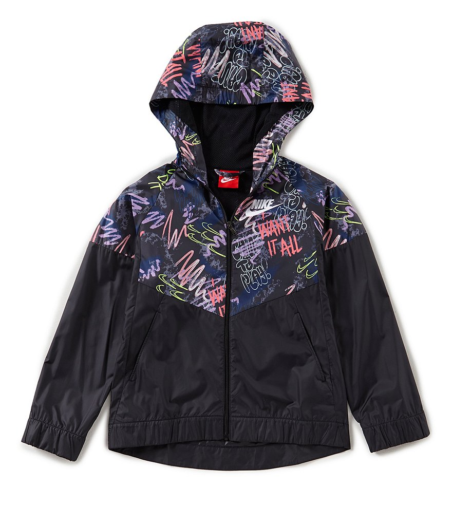 Nike Big Girls 7-16 Sportswear Windrunner Jacket