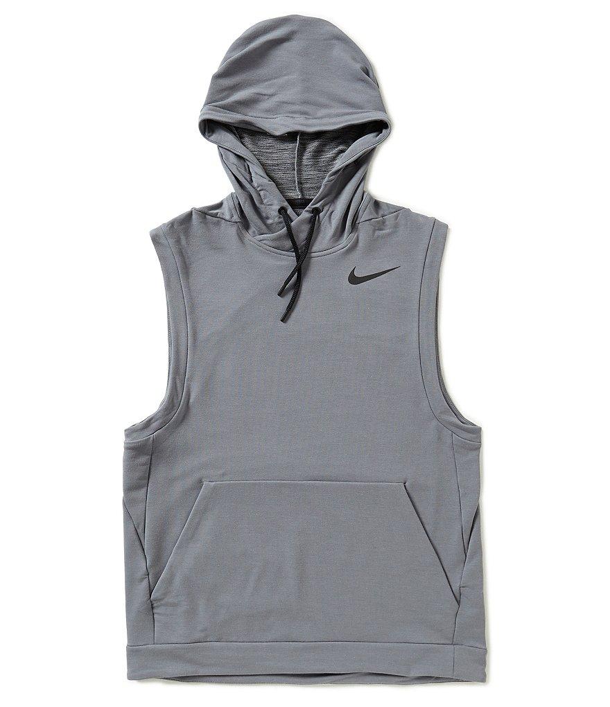 mens nike sleeveless hoodie