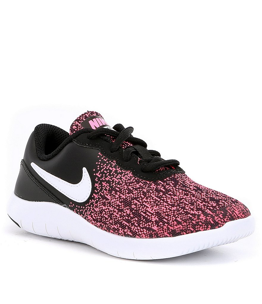nike girls180 flex contact running shoes dillards