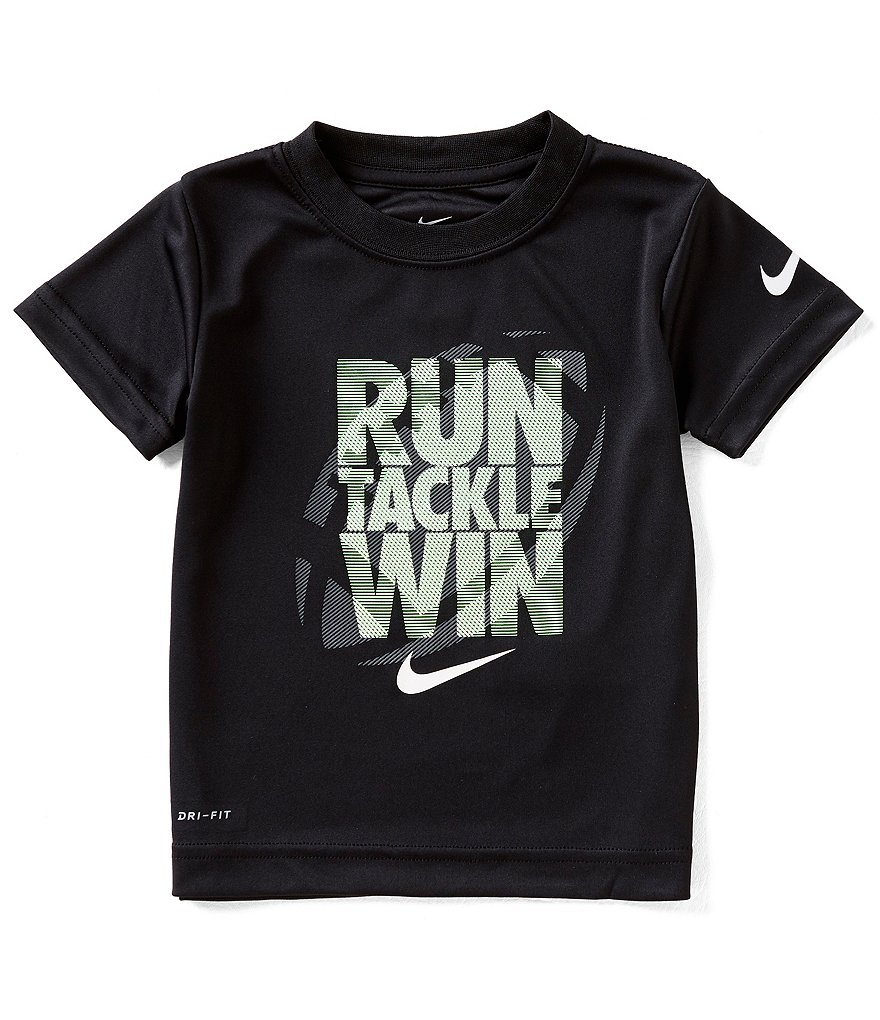 Nike Little Boys 2T-7 Run Tackle Win Short-Sleeve Tee