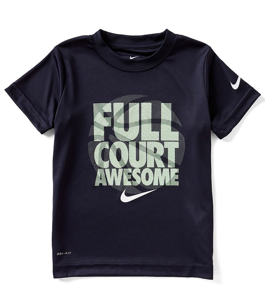 Nike Little Boys 2T-7 Short-Sleeve Full Court Awesome Tee