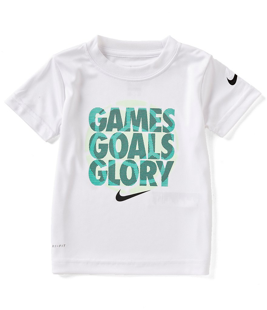 Nike Little Boys 2T-7 Short-Sleeve Games Goals Glory Tee