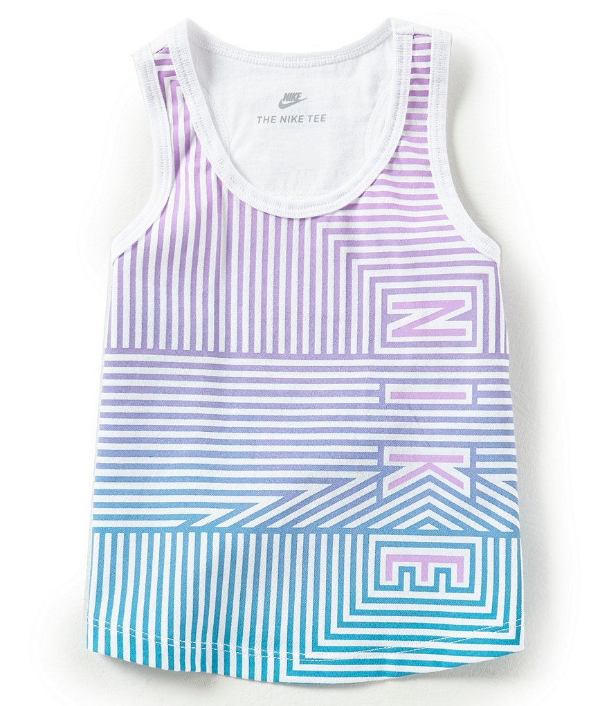 Nike Little Girls 2T-6X Reverb Tank Top
