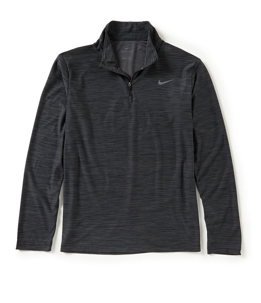 Nike Long-Sleeve Breathe Quarter Zip Training Top