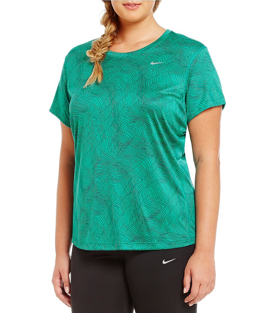 Nike Plus Dry Miler Short Sleeve Top