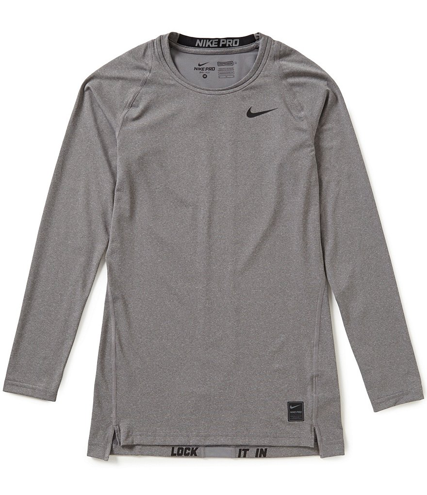 Nike Pro HyperCool Long-Sleeve Compression Top