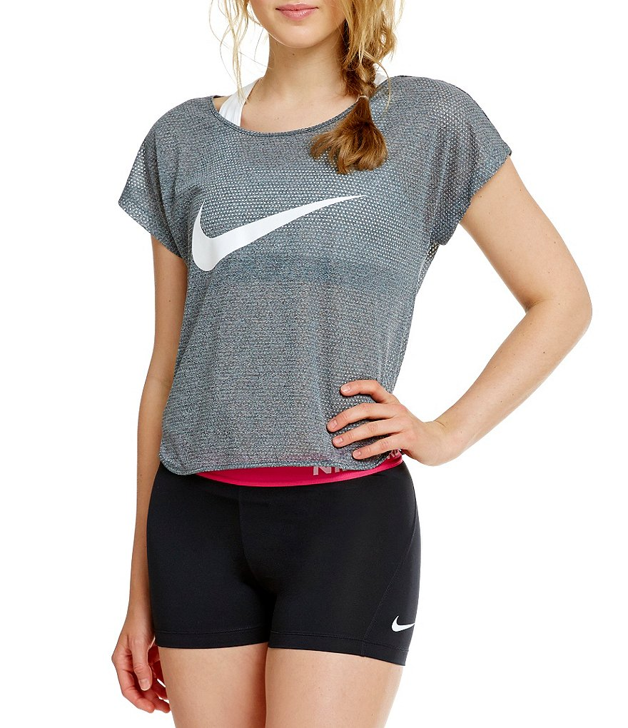 Nike Run Free Swoosh Cool Women´s Running Short-Sleeve Top