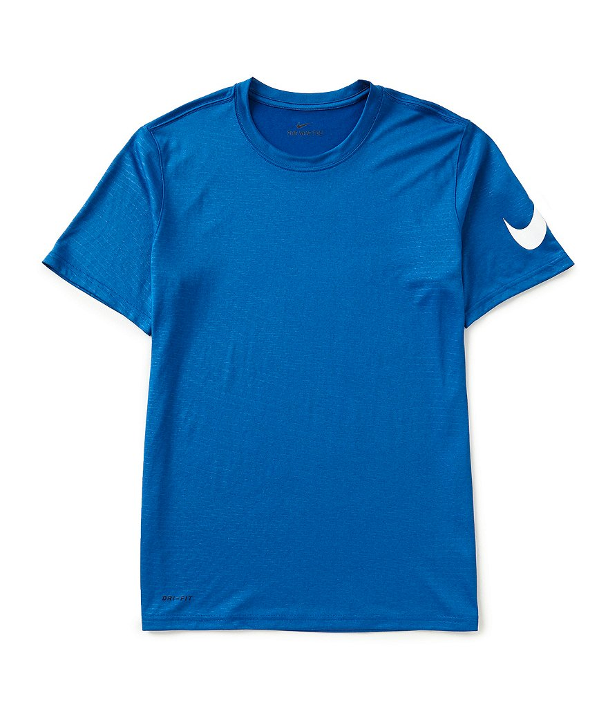 Nike Short-Sleeve Dry Embossed Dash Training T-Shirt