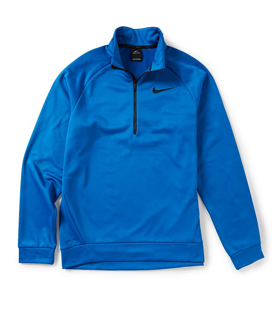 nike 1 4 zip pullover. nike therma fleece quarter zip pullover 1 4