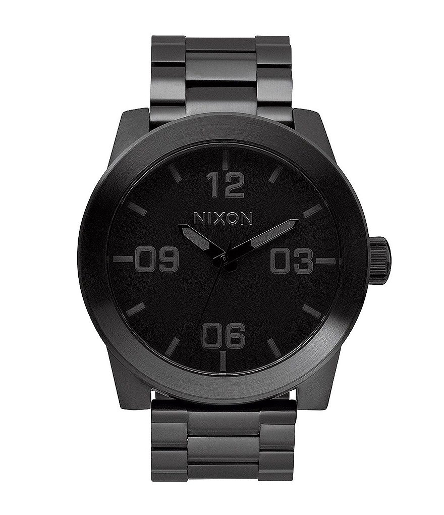 Nixon The Corporal Stainless Steel Analog Bracelet Watch