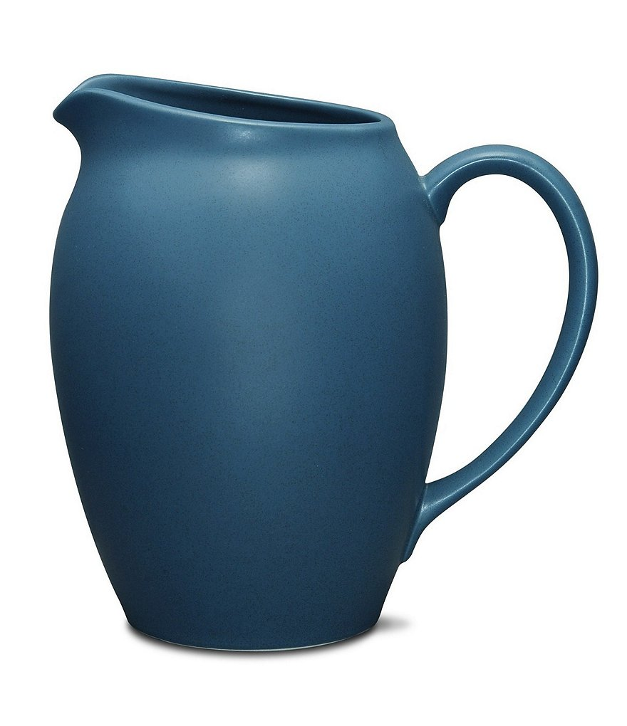 Noritake Colorwave Blue Coupe Matte Stoneware Pitcher